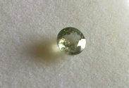 0.40 Natural green Sapphire loose gemstone