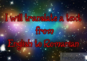 I'll translate a text from english to romanian for $5 : soferauto - Findeavor