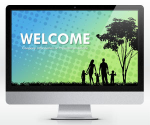 Free Widescreen Family PowerPoint Template | SlideHunter.comSlideHunter.com