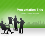 Free Business Meeting PowerPoint Template | SlideHunter.comSlideHunter.com