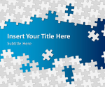 Free Puzzle Pieces PowerPoint Template | SlideHunter.comSlideHunter.com