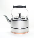 BonJour 2-Qt. Stainless Steel Classic Tea Kettle with Copper Bottom