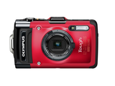 Olympus Stylus TG-2 iHS Digital Camera with 4x Optical Zoom and 3-Inch LCD (Red)