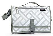 Anvy & Me Diaper Changing Clutch with Changing Pad for Baby Infants and Toddlers, Portable Changing Station Nursery T...