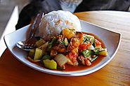 Deviled Sweet and Sour Fish Curry