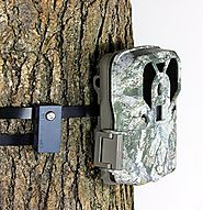 Trail Camera LOCK Cam Guardian / Trail Camera MOUNT / Metal Security Strap in ONE. Better than Trail Camera Lock Box ...