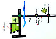 Location Map of Galaxy North Avenue 2 in Noida Extension