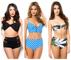 High Waisted Bikini Bottoms & Bathing Suits at Victoria's Secret