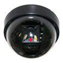 VideoSecu Dummy Fake Imitation Security Camera with Flashing Light LED Cost-effective Security CCTV Simulated Dome Ca...