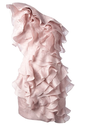 Isabel Marant Ruffled One-Shoulder Dress