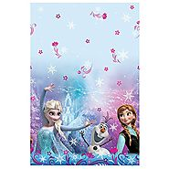 "Disney Frozen Plastic Tablecloth, 84"" x 54"""