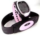 GSI Super Quality Women's Heart Rate Monitor Watch With Transmitter Chest Belt - For Exercise, Sports, Running, Joggi...