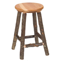 Hickory Barstool (Set of 2) Finish: Rustic Maple, Size: 24""