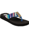 Blue Yellow Box Flip Flops and Sandals for Women