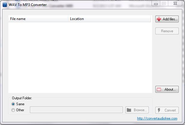 Convert Audio Free - Free WAV to MP3 Converter