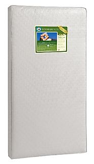 Sealy Soybean Foam-Core Infant/Toddler Crib Mattress - Hypoallergenic Soy Foam, Extra Firm, Durable Waterproof Cover,...