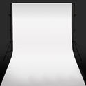 White Photo Studio Backdrop / Background 1.6m x 2m