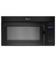 Whirlpool WMH31017AB 1.7 Cu. Ft. Black Over-the-Range Microwave