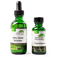 Toenail Fungus Treatment - Natural 2-Step Topical Anti-Fungal Solution with Pure Essential Oils - Removes Yellow from...