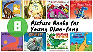 8 Dinosaur Picture Books for Young Dino-fans - Almost a Reader
