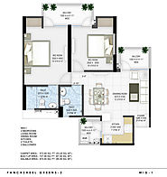 Panchsheel Greens 2 Floor Plan