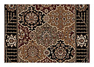 Custom Rugs - Persian Crown - PC004 Black | Oriental Designer Rugs