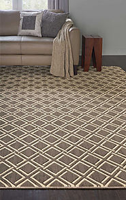 Custom Rugs Machine Made Mediterranean Sparta Sprta Prote-B Lt. Brown - Chocolate & Ivory - Beige colors | Oriental D...