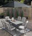 Patio Furniture Set. This Patio Furniture Set Will Rejuvenate Your Backyard Or Patio Deck. This Sophisticated 7 Piece...