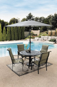 Patio Furniture Sets. This Patio Furniture Sets The Stage For Elegance. A Contemporary Cast Iron Inspired Patio Furni...