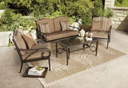 Patio Furniture Sets. This Patio Furniture Sets The Style. This Cushioned Conversation Patio Furniture Set Makes The ...
