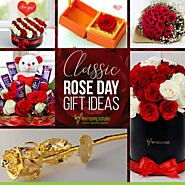 6 Classic Rose Day Gift Ideas
