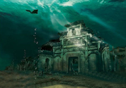 Spectacular Underwater City in China Draws Adventurous Divers