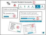 Create Student Accounts by Susan Oxnevad