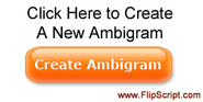 FREE Ambigram Generator - The Ambimatic - Ambigram Magazine