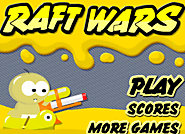 Raft Wars: Online Shooting Game-Help Simon