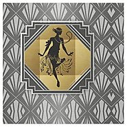 Prepare To Be Zazzled - Art Deco Fabrics By Zazzle