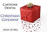 Capstone Dental Christmas Giveaway! — Seven Hills Dentist | Capstone Dental Seven Hills