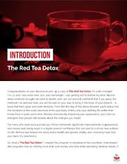 Red Tea Detox Belly Fat Burning Drink For Weight Loss at $17 : Liz Swann Miller : Free Download, Borrow, and Streamin...