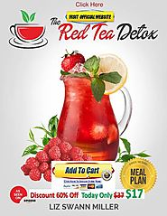 """Red Tea Detox Belly Fat Burning Drink For Weight Loss at $17"" by Liz Swann Miller"