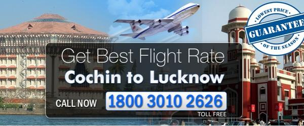 Headline for Cochin to Lucknow Flighhts