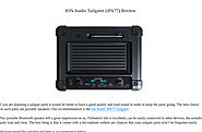 'ION Audio Tailgater (iPA77) Review' by AudioReputation | Readymag