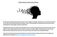 'The Evolution of the Sound of Music' by AudioReputation | Readymag