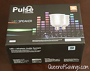 Pulse Dimmable LED Lights with JBL Bluetooth Speakers ~ Queen of Reviews