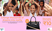 Crowdfunding India | COACH Luxury Leather Handbag | ezKarma
