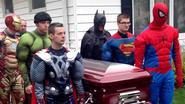'I tried to give him the best thing I could': 5-year-old boy laid to rest with superhero funeral