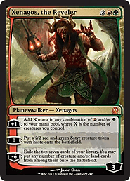 Xenagos, the Reveler (209/249) - Theros