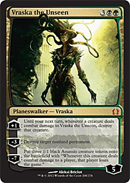 Vraska the Unseen (208) - Return to Ravnica