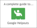 Google | A Complete Guide to Google Helpouts