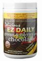 Ez Daily Super Greens Energy Drink Powder - Chocolate Flavor