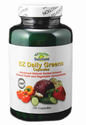 EZ Daily Green Energy Capsules, Advance Natural Herbal Extract
